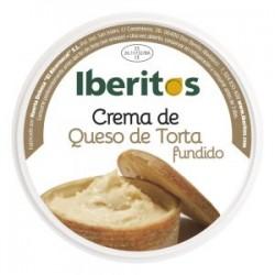 crema queso torta fundido